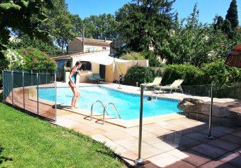 Une magnifique piscine rien que pour vous…